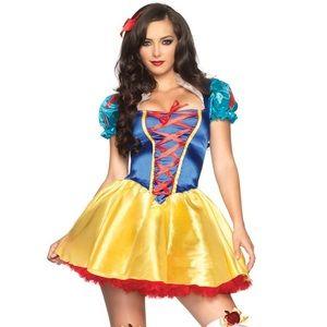 LEG AVENUE fairytale Snow White storybook costume
